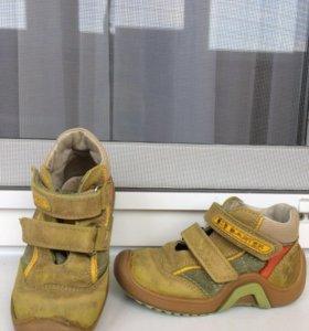 Б/у туфли ботинки осень-весна