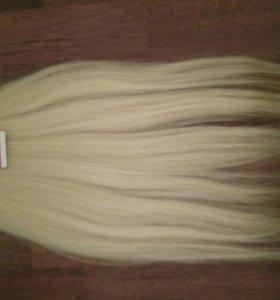 Волосы 52 см натуральные