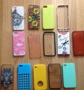 Чехлы Iphone 4/4s/5/5s/5с