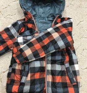 Куртка для мальчика, двусторонняя