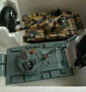 Радиоуправляемая игрушка Танковое сражение