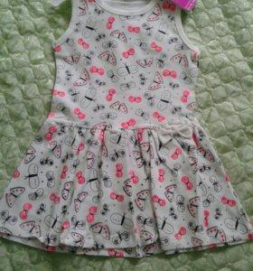 Платье на 3,4 года новая