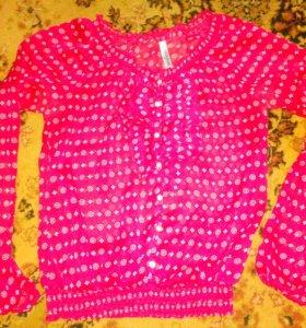 Блузка на девочку (12_14лет)