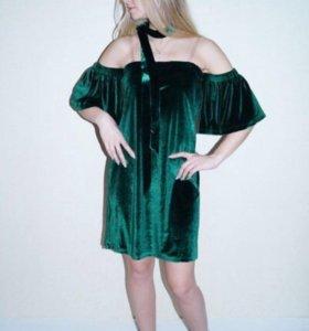 Новое платье бархат