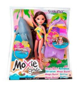 Кукла Moxie с плавающим дельфином