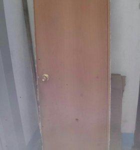 Двери межкомнатные б /у