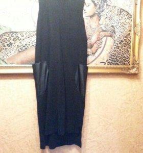 Платье интересный крой
