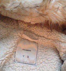 Женское зимнее пальто pull&bear