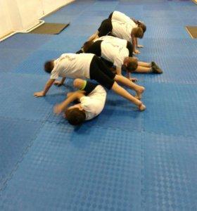 Тренировки по Ушу для детей 5-9 лет.