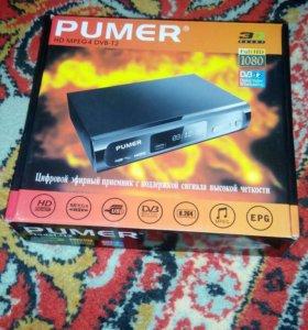 """Продам цифровой тюнер марки """"Pumer"""""""