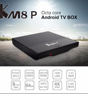 Медиаплеер Mecool KM8P S912 8 ядер Android 7.1