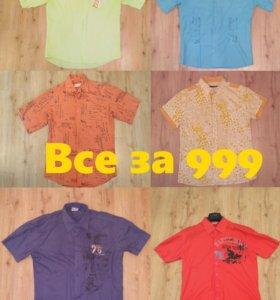 Рубашка 999 за 6 шт (48–50), футболка, майка
