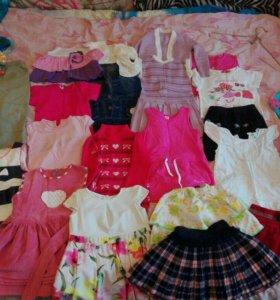 Одежда для девочки, 30шт.