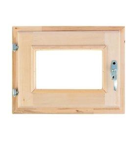 Окно 40 х 30 для Бани