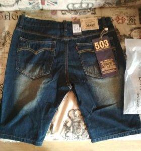 Джинсовые шорты Levi's 503 новые