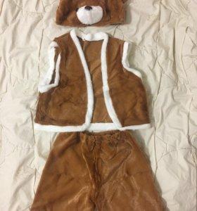 Детский новогодний костюм (МИШКА)