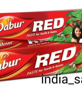 ЗУБНАЯ ПАСТА DABUR RED, Индия