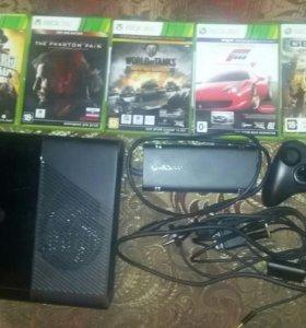 Xbox 360+диски лицензия