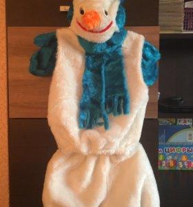 Новогодний костюм «Снеговик»