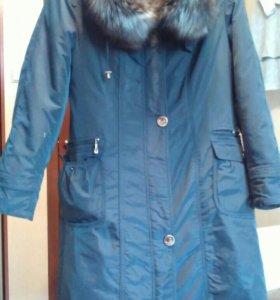 Пальто зимнее пихора 50-52 размер
