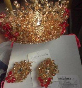 Тиары,короны,ободки