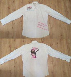 Рубашка, 48-50, майка, кофта, свитер