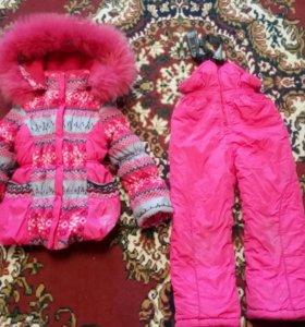 Детские зимние вещи на девочку.