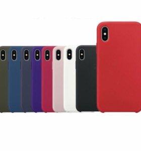Силиконовый чехол для iPhone X TPU резиновый