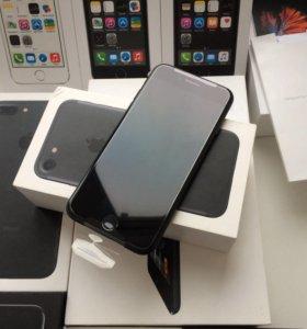 iPhone 7 32гб чёрный матовый новый Ростест