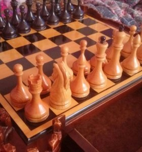 Шахматы ручной работы! Торг!