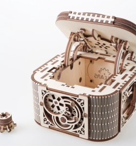Ugears - Механическая шкатулка-конструктор