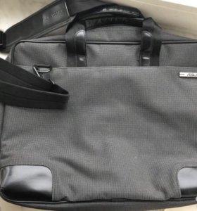 Новая серая сумка Asus для ноутбука для переноски