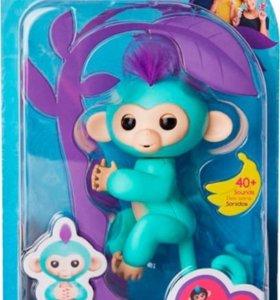 Весёлая обезьянка Fingerlings Monkey