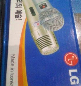Микрофон ( караоке) LG