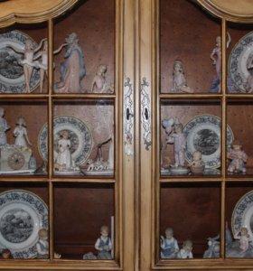 Шкаф деревянный для кухни и гостиной