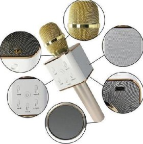 Блютуз караоке микрофон Q7