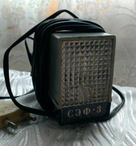 Вспышка СЭФ 3 (к фотоаппарату ZENIT ET)