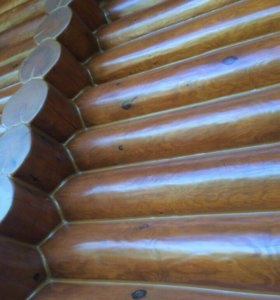 Покраска и отделка деревянного дома