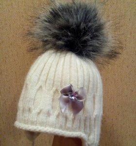 Зимняя шапка для девочки