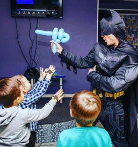 Аниматор бэтмен на детский день рождения