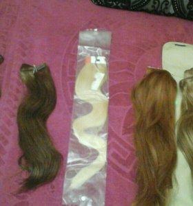 Новые натуральные волосы hair shop