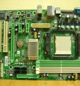 Материнская плата Biostar NF560-A2G Socket AM2