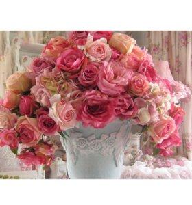 Набор алмазная вышивка (Розы)