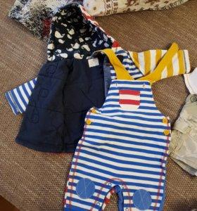 Одежда на мальчика next 6-9 месяцев