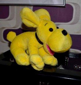Web - камера игрушка собака желтая