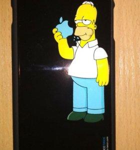 Чехлы для iPhone 6 Plus (Гомер и кот саймона)