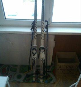 ,,Лыжи детские,длина лыж 133 см.