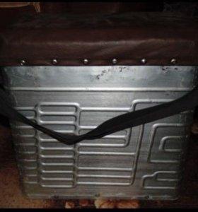 Стул-ящик для рыбной ловли