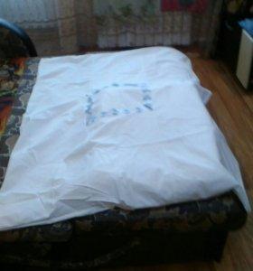 Продам детское одеяло с пододеяльником новое