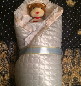 Конверт- одеяло на выписку.